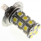 GCD 8009 H7 4W 250lm 6500K 24-SMD 5050 LED White Car Headlight / Fog Light / Backup Light - (12V)