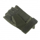 Stylish Outdoor Half-Finger Gloves - Army Green ( Size-M / Pair)
