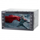 "Joyous J-2615MX 6.2"" Touch Screen Car DVD Player w/ Digital TV, GPS, FM/AM, Bluetooth, AUX - Black"