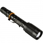 SingFire SF-125B 800lm 5-Mode Neutral White Zooming Flashlight w/ Cree XM-L T6 - Black (2 x 18650)