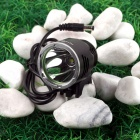 NITEFIRE NFC-16 Cree XM-L T6 680lm 3-Mode Cool White Bicycle Light Headlamp - Black (4 x 18650)