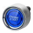 Blue Light Push Start Ignition Switch for Racing Sport (DC 12V)