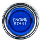 Blue Light Push Start Ignition Switch para Corridas Desportos (DC 12V)