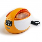 JEKEN CE-5600A 50W Digital Ultrasonic Cleaning Machine for Glasses, Jewelry + More - Orange + White