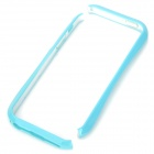 Stylish Protective PC Bumper Frame for iPhone 5 - Blue