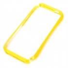 Stylish Protective PC Bumper Frame for Iphone 5 - Yellow