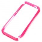 Stylish Protective PC Bumper Frame for iPhone 5 - Deep Pink