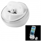 Micro USB Charging Dock Cradle for Samsung Galaxy S4 / i9500 - White