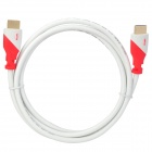 UNITEK Y-C113C Gold Plated HDMI 1.4 Male to Male Connection Data Cable - White + Red (1.5m)