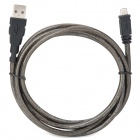 UNITEK Y-C434  USB2.0 A Male to Micro USB Male Charging Cable for Cell Phone - Deep Grey