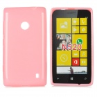 Protective Soft Plastic Case for Nokia Lumia 520 - Pink