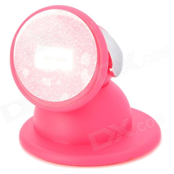 все цены на  Stylish 360 Degree Rotation Car Mount Holder w/ Suction Cup for Iphone / HTC / Samsung - Deep Pink  онлайн