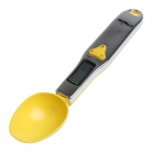 "TMALL 8006 1.5"" LCD Digital Food Flour Scale Kitchen Measuring Spoon - Black + Yellow (2 x AAA)"
