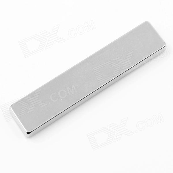 Rectangle Sintered NdFeB Magnets - Silver (2 PCS)