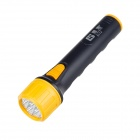 SHANFENG SF-812 Professional Outdoor 100lm 1-Mode 7-LED Neutral White Flashlight - Yellow + Black