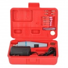 WLXY WL-500 Mini Electric Drill / Grinding Set - Red