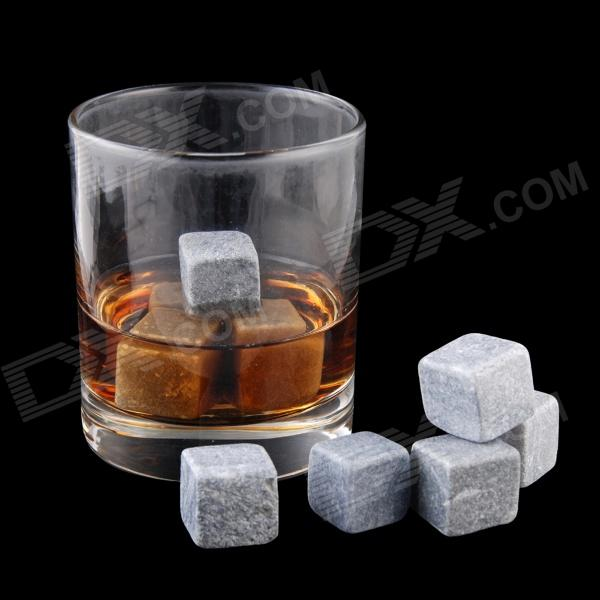 QZS-12 Ryan's Whiskey Stones Rocks Ice Cubes Soapstone Wine Bev Chillers - Grey (12 PCS) upper mantle rocks from kozakov and horni bory bohemian massif