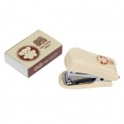 M&G FBS91625 Cute Miffy Pattern Stapler + Staples Set - Beige