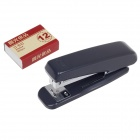 M&G ABS91669 Stainless Steel Stapler + Staples Set - Dark Grey