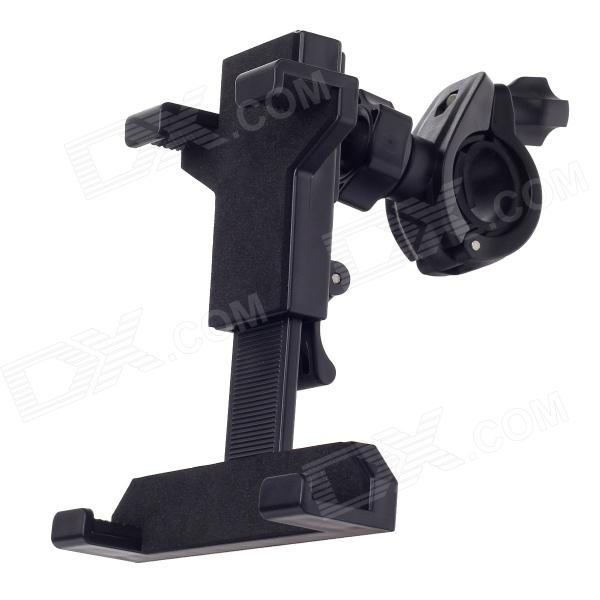Universal Motorcycle Bicycle Holder for Ipad MINI / 5~7 Tablet PC - Black universal full rotating gooseneck mount stand for 7 tablet pc ipad mini black