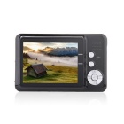 "Amkov CD-FE 2.7"" TFT 5MP CMOS Wide Angle 8X Digital Zoom Digital Camera w/ SD Slot - Black"