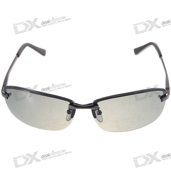 ff0cb21ba6c3d Polarized Glare-Guard TAC Alloy Frame Sunglasses with UV380 UV Protection -  Free Shipping - DealExtreme