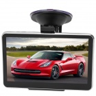 "CAPF DH710-P 5.0"" TFT Touch Screen Win CE 6.0 Car GPS Navigator w/ 128MB RAM / 4GB Memory / FM / TF"