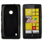 Protective Soft TPU Case for Nokia Lumia 520 - Black