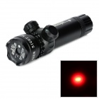 LHY011R 5mW  650nm Red Laser Gun Aiming Sight Scope - Black (1 x CR123A)