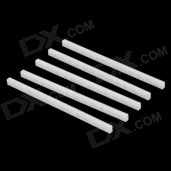 DIY R/C Car Model 0.5mm Big Gear Drive Rod Transmission Bar - White (5 PCS)
