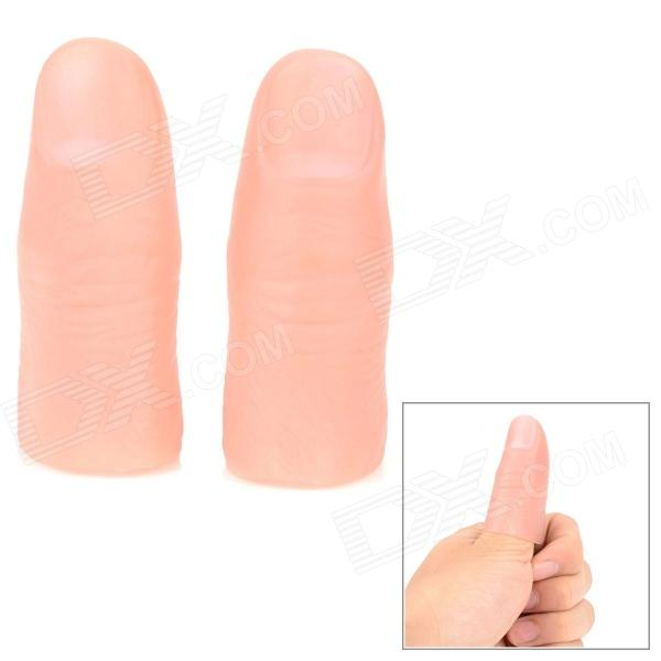 Vinyl Realistic Flesh Color Thumb Cover for Magic Performance (2 PCS)