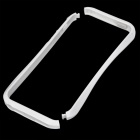 Stylish Protective PC Bumper Frame for Iphone 5 - White