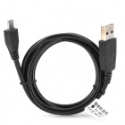 Universal USB to Micro USB Data / Charging Cable for MOTO V8 - Black