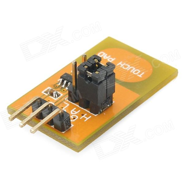 Meeeno Capacitive Touch Sensor Module for Arduino - Black + Orange good working original 95% new used for glanz washing machine blade electronic door lock delay switch