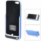 "Portable ""2200mAh"" External Battery Back Case w/ Stand for iPhone 5 - Blue + Black"
