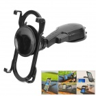 Universal Car Mounted Adjustable ABS Tablet PC / FPTV Holder Station - Black