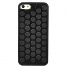 Creative Pop Puchi Bubble Design Protective ABS Back Cases for Iphone 5 - Black
