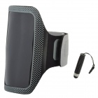 Sports Armband for Samsung Galaxy S4 Mini i9190 - Black + Grey