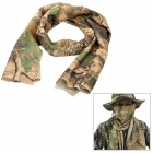 Outdoor Tactical Breathable Mesh Fabric Scarf - Camouflage