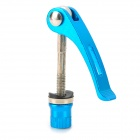 Bicycle Quick Release Aluminum Alloy Shaft - Blue