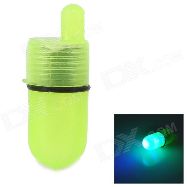 YSO407 LED Drop Underwater Fishing Flashing Light - Translucent Yellow (2 x LR41)