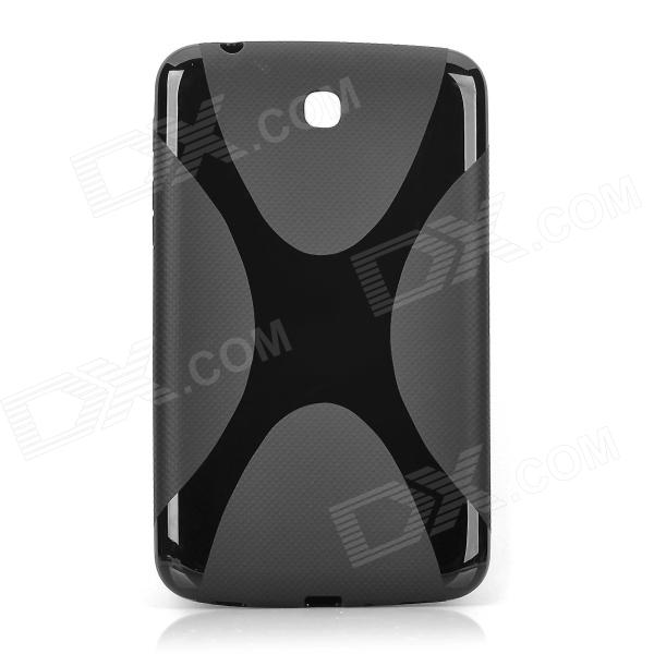 Stylish TPU Back Case for Samsung Galaxy Tab 3 P3200 / P3210 - Black
