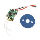 JZ-3W-4 Synchronous Memory Dimmable 3W 4-Pin RGB Light Power + Controller w/ IR Remote