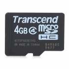 Transcend 4GB Class 4 Micro SD / TF Card w/ Card Reader