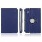 ENKAY ENK-7010 Jean Style PU Leather Case w/ Holder for Samsung Galaxy Tab P3100 / P3110 - Blue