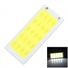 5W 500lm 6500K COB-LED White Light Strip - Silber + Gelb (72 x 31mm)
