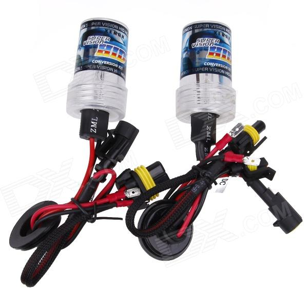 TYZ H3 35W 3200lm 4300K White Partial Yellow Light DC Automobile Car Xenon Lamp - (2 PCS)