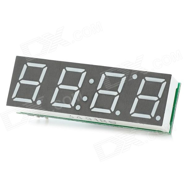C-022 3-in-1 Red Digital LED Voltmeter Thermometer Clock