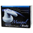 Body Slimming Health / Beauty Physical Therapy Massager / Fat Remover - White + Purple + Black