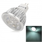 UItraFire 4w 280lm 6500k 4 LEDs White GU5.3 MR16 Spotlight - White + Silver